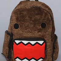 Domo The Plush Fur Backpack,Bags (Handbags/Totes) for Women