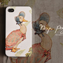 Apple iphone case for iphone iPhone 5 iphone 4 iphone 4s iphone 3Gs : Vintage Mrs. Duck