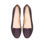 PRINTED SILK SATIN SLIPPER - Flats - Shoes - Woman - ZARA United States