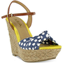 Mia Shoes, Spring Platform Wedge Sandals - Espadrilles & Wedges - Shoes - Macy's