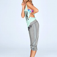 Side-stripe Crop Pant