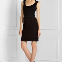 BCBGMAXAZRIA - $188.00 <BR>SHOP BY CATEGORY: DRESSES: VIEW ALL: TRAPUNTO-STITCHED PONTE DRESS