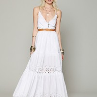 Free People Ophelia Eyelet Maxi Dress