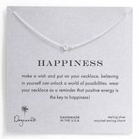 Dogeared &#x27;Whispers - Happiness&#x27; Pendant Necklace | Nordstrom
