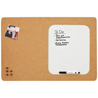 Info Center Cork &amp; Dry Erase Board