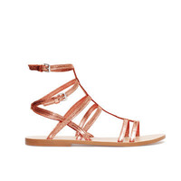 SHINY GLADIATOR SANDALS - Woman - New this week - ZARA United States