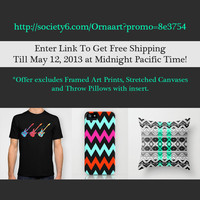 FREE SHIPPING in my Ornaart shop - till May 12, 2013 by Ornaart