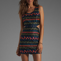 Parker Slash Embroidery Dress in Black from REVOLVEclothing.com