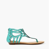 Butter Field Sandal - Mint