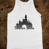 Forever Young (Tank) - Fun Movie Shirts - Skreened T-shirts, Organic Shirts, Hoodies, Kids Tees, Baby One-Pieces and Tote Bags