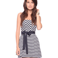 Seashore Stripes Dress | FOREVER21 - 2000023975
