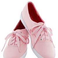 Sidewalk of Fame Sneaker in Pink | Mod Retro Vintage Flats | ModCloth.com