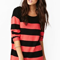 Hot Stripe Knit