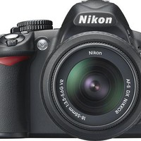 Nikon - D3100 14.2-Megapixel Digital SLR Camera - Black - D3100 Kit with 18-55mm VR Lens - Best Buy