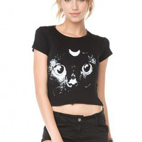 Brandy ♥ Melville |  Carolina Crescent Cat Top - Just In