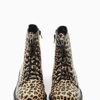 Machine Leopard Combat Boot