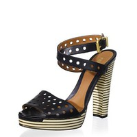 Fendi Women&#x27;s Striped Sandal at MYHABIT