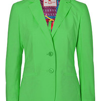 Etro - Apple Green Stretch Cotton Jacket