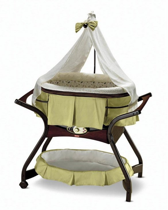 Fisher-Price Zen Collection Gliding Bassinet