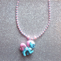 Lotus Blossom Spa Pony Necklace