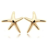 Beach Holiday Starfish Studs