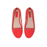 STUDDED SLIP-ONS - Shoes - Girl - Kids - ZARA United States