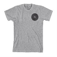 Ed Sheeran Heather Grey Insignia T-Shirt. Buy online, http://www.edsheeran.com/