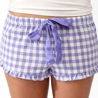 Gingham PJ Shorts | FOREVER 21 - 2030187002