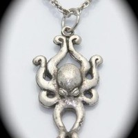 Octopus Necklace New Release Summer 2010 designed by billyblue22