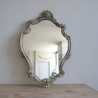 Vintage French Mirror / Ornate Gold Wall by FrenchAtticFinds