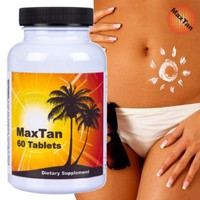 MaxTan, 60 Tanning Tablets