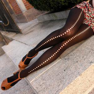 Pothole Backseam Stockings