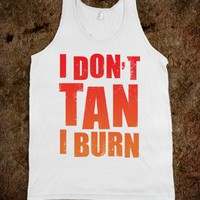 I Don&#x27;t Tan (Tank)