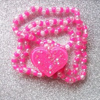 Magic Princess Kandi Set - Necklace and Bracelet from On Secret Wings