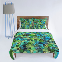 DENY Designs Home Accessories | Lisa Argyropoulos Ocean Geo Duvet Cover