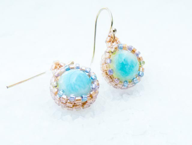 The Breath. Turquoise Jewelry. Romantic Dangle Earrings, Rustic Wedding, Bridesmate, Tbteam
