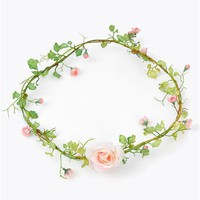 Flower Power Headband - Pink