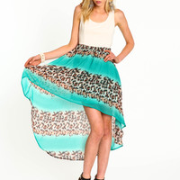 Strappy Chiffon Print Dress