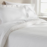 PB Organic 350-Thread-Count Duvet Cover &amp;amp; Sham - White