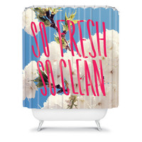 DENY Designs Home Accessories | Leah Flores So Fresh So Clean Shower Curtain