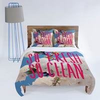 DENY Designs Home Accessories | Leah Flores So Fresh So Clean Duvet Cover