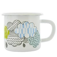 clouds enamel beaker at Paperchase