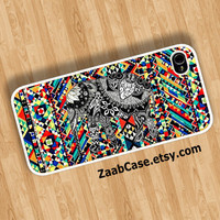 Tribal Elephant Case , Elephant Case , Colorful Case , Geometric Case : iPhone 4/4s Case , iPhone 5 Case , Galaxy S3 Case , Galaxy S4 Case