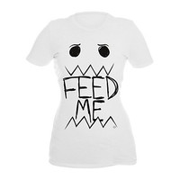 Goodie Two Sleeves Feed Me Girls T-Shirt | Hot Topic