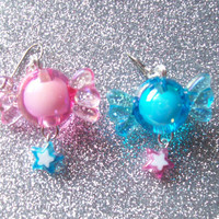 Star Candy - Sweet Pastel Charm Earrings