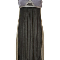 VPL - Convexity Breaker Midi Dress in Asphalt