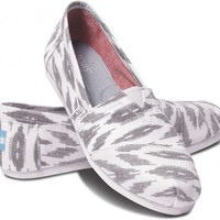 Grey Ikat Women&#x27;s Vegan Classics