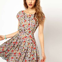 Paul and Joe Sister Bright Floral Print Dress