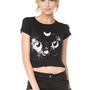 Brandy ♥ Melville |  Carolina Crescent Cat Top - Clothing