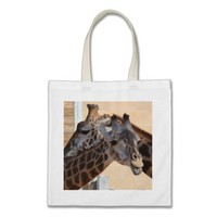 GIraffe Friends on Tote Bag from Zazzle.com